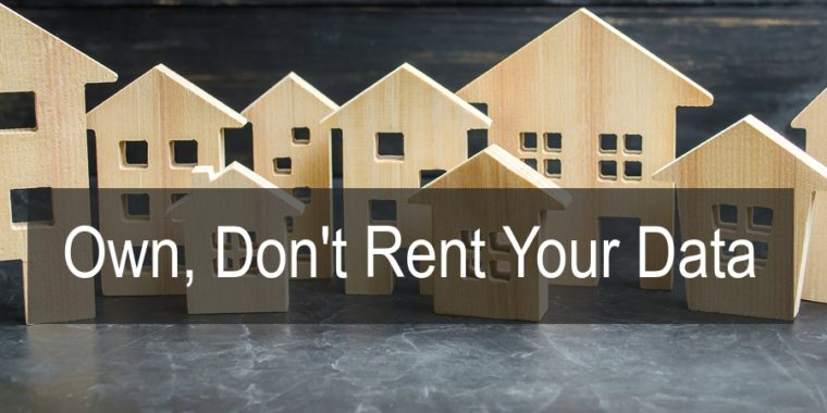 SearchChat Podcast: Own, Don't Rent your Data